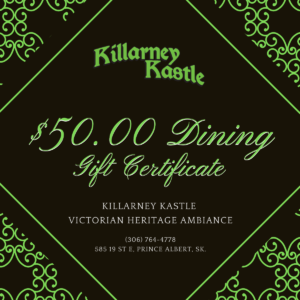 $50 Gift Certificate Dining
