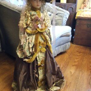 Victorian Era Style Porcelain Doll