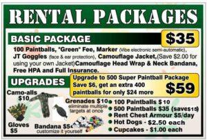 Rental Packages