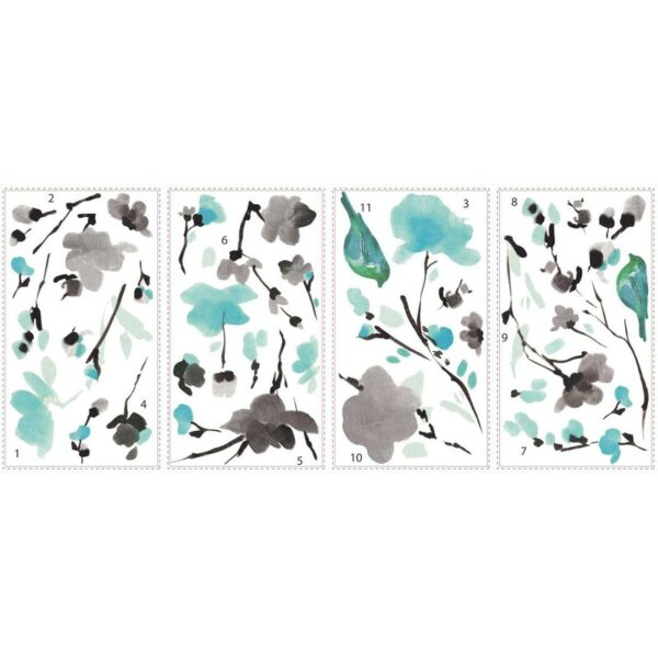 Blossom+Watercolor+Bird+Branch+Wall+Decal (1)