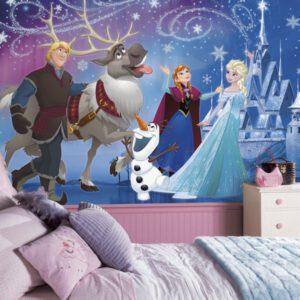 Frozen Wall Mural