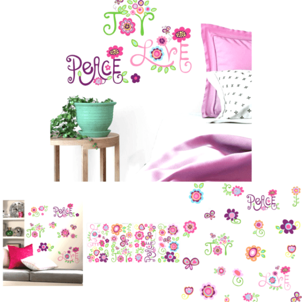 Love-Joy-Peace Wall Decal RoomMates