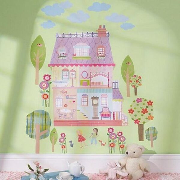 Play House - Wallies Peel and Stick Decor